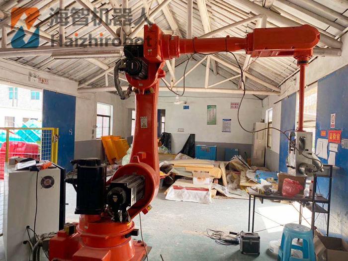 自动化打磨工业机器人