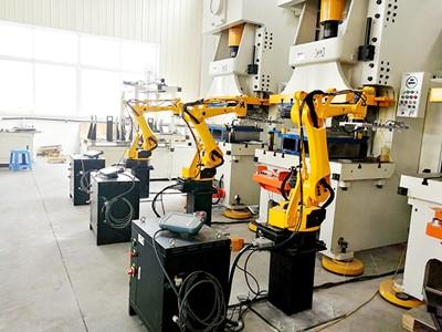 海智(zhi)四軸(zhou)沖(chong)壓機器人系列
