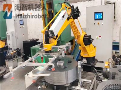 海智(zhi)單工位沖(chong)壓機器人系列