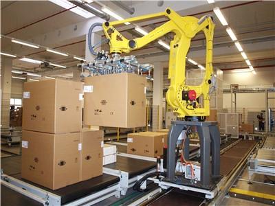 工业机器人企业的使用