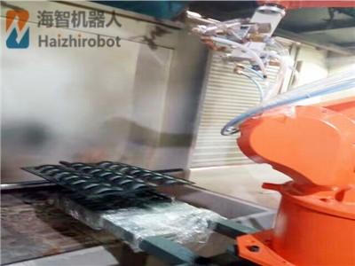 旋转台机器人喷漆