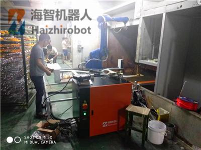 翻转转台喷漆机器人设备