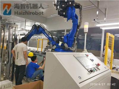 工業機器人價(jia)格怎麼(me)參考對比他闹去?海智機械(xie)手生