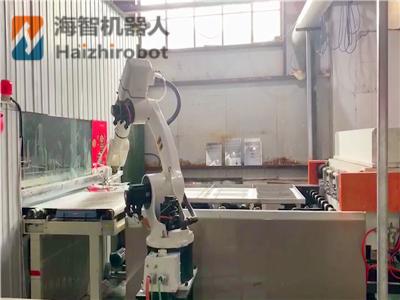 智(zhi)能搬運機器人生產線應用