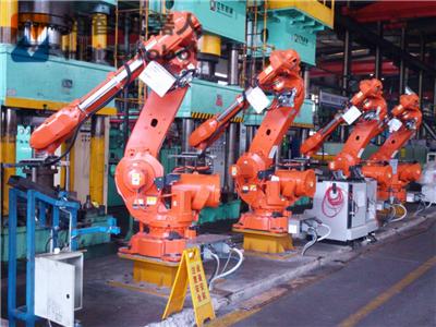 多工位冲压拉伸机械手 全自动拉伸生产线(图4)