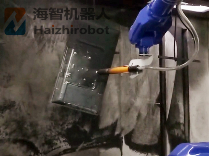 机器人喷粉房