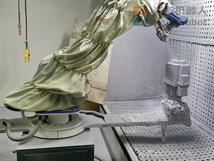 喷漆设备哪里买?机器人自动化喷涂设备!