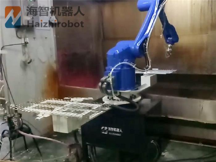 机器人转台喷涂