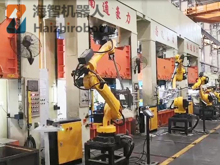 冲压机械手设备厂家应用案例
