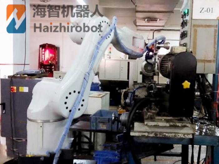 机械臂上下料数控机床 机械手机器人自动化