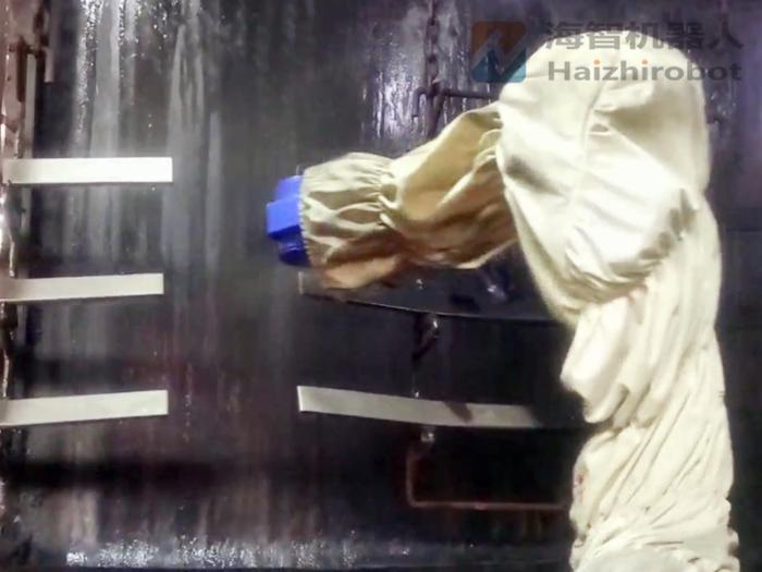 自动喷涂机 同步跟踪喷漆机器人(安装调试完成)