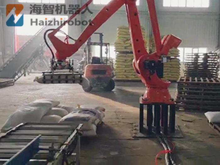 搬运码垛生产线 机械手自动搬运工件