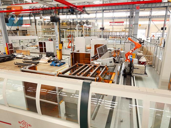 制造业人工工业机器人