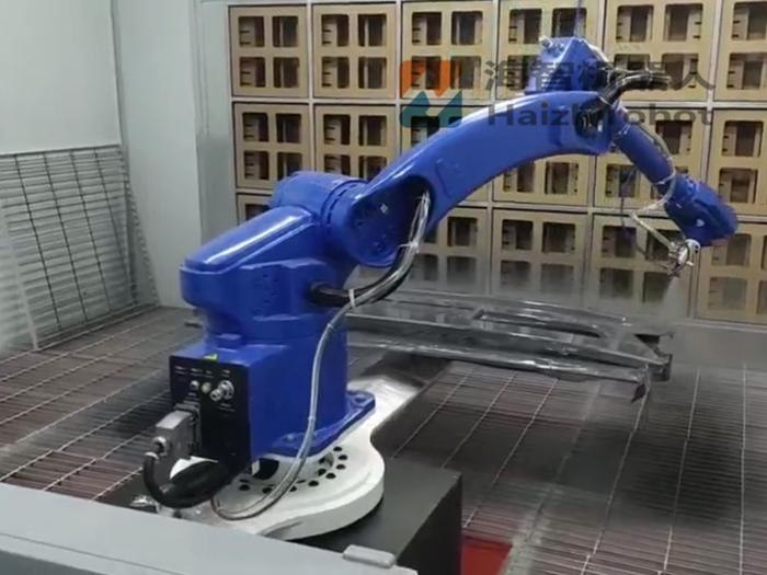 貨(huo)車保險杠(gong)噴漆 機器人工業噴涂kan)蠹jian)